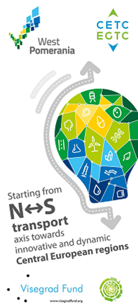 Starting from N-S transport axis towards innovative and dynamic Central European regions – the regional specializations