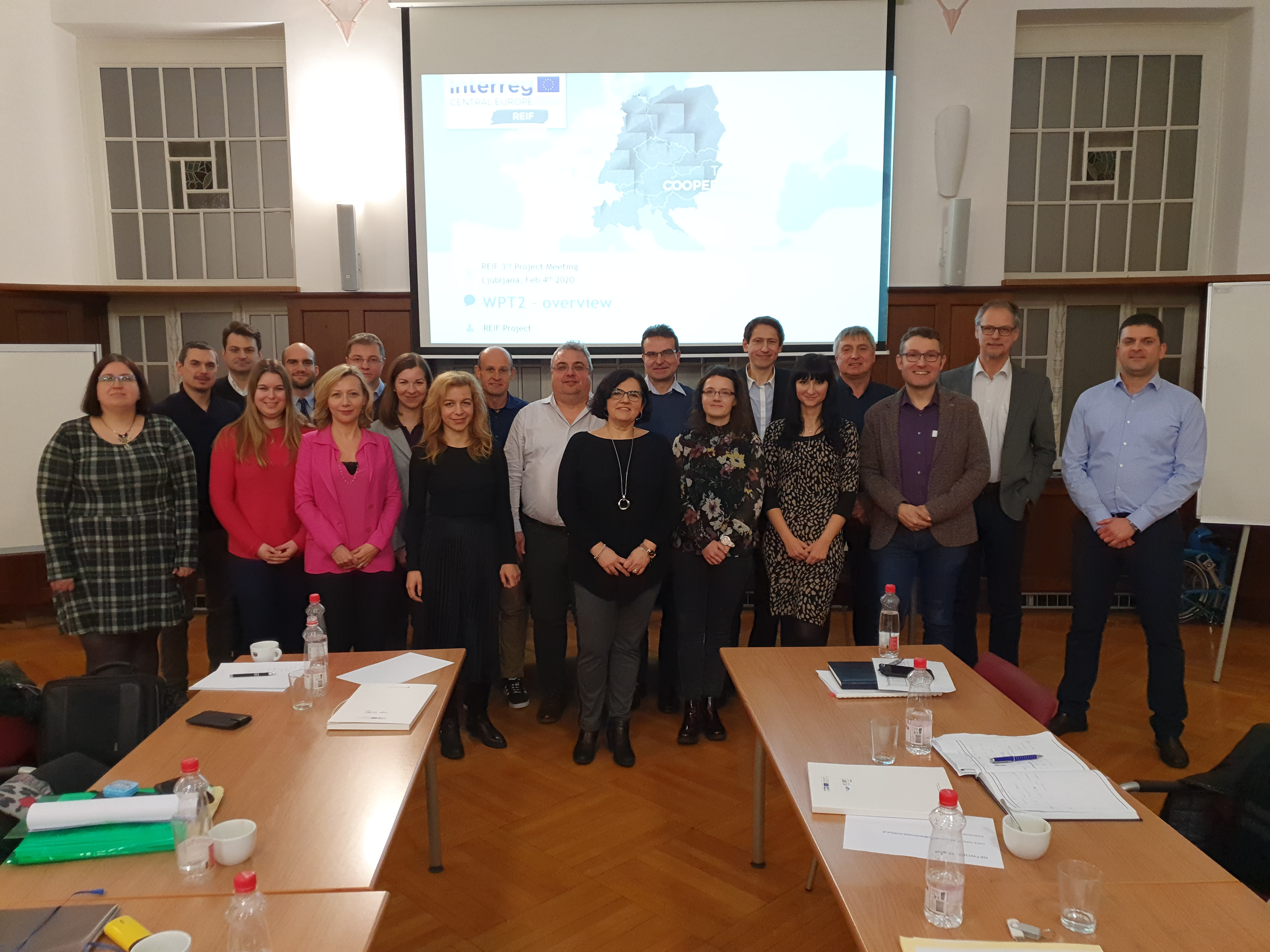 REIF project meetng – Ljubljana/Koper